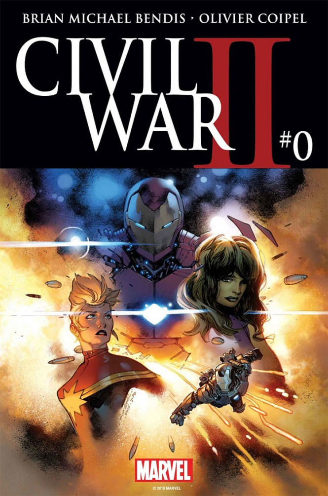 Marvel New StoriesThe Road To Civil War II